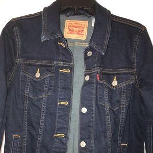Pre-Owned Levi's denim trucker jacket (women)